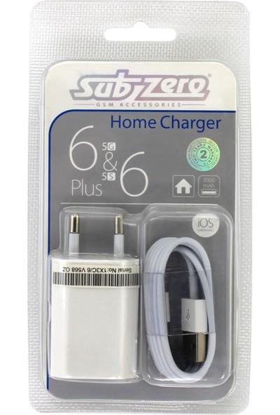 Subzero Apple iPhone 5 Şarj Cihazı Aleti 5S 5C 6 6S 6C