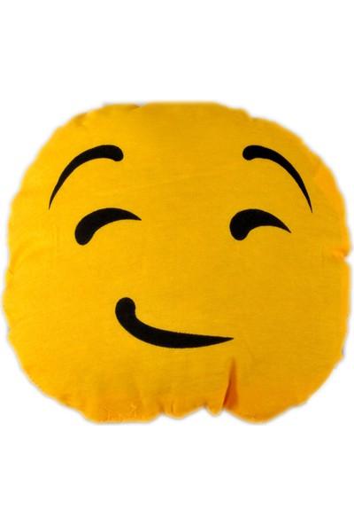 Emoji Yastık - Üzgün Emoji Yastık