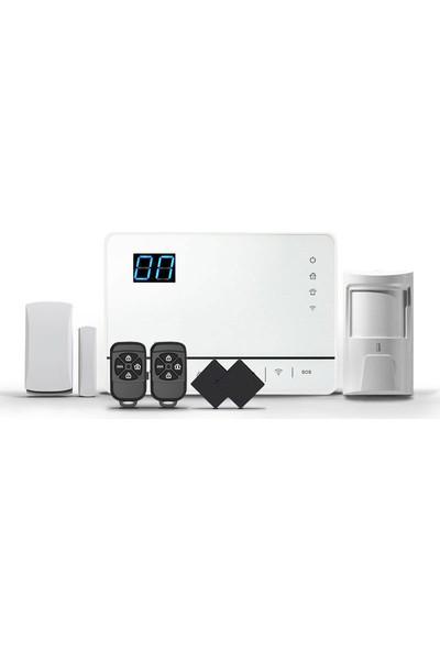 Opax-632 Kablosuz Wifi / Pstn Dokunmatik Alarm Paneli