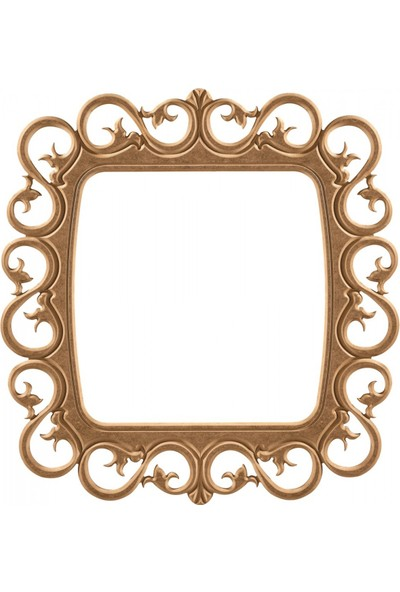 Masifart 8152 Samanyolu Ayna Cilasız Ahşap