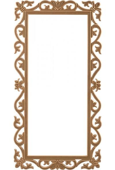 Masifart 8155 Orkide Boy Ayna Cilasız Ahşap