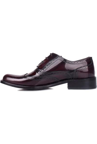 Erkan Kaban 327 071 620 Erkek Bordo Klasik Ayakkabı