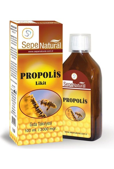 Sepe Natural Sepe Natural Propolis Oral Liquid 100Ml
