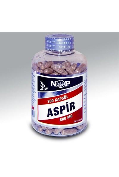 Nop Naturel Nop Naturel Aspir Tohumu Cla 200 Kapsül X 880Mg   Safflower Seed