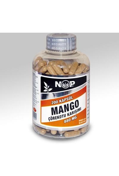 Nop Naturel Nop Naturel Mango Ekstraktı & Çörekotu Tohumu 200 Kapsül X 780Mg