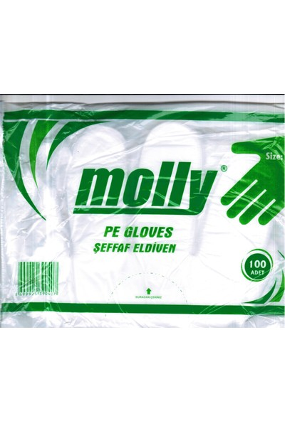 Molly Molly Poşet Eldiven 10 000 Adet(100 Paket)