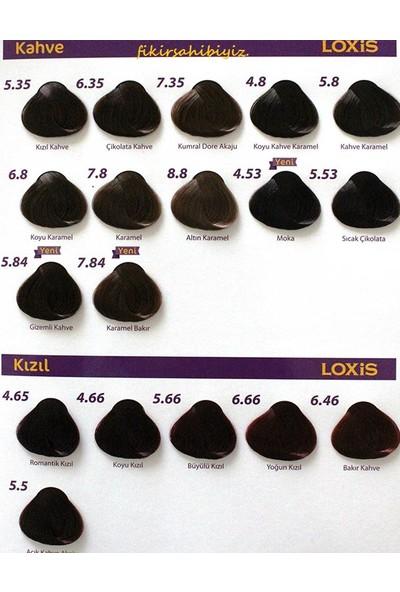 Loxis Tüp Krem Saç Boyası Kahve 6.35 Çikolata Kahve