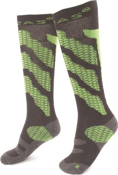 2AS - Thermolite Kayak Çorabı Yeşil