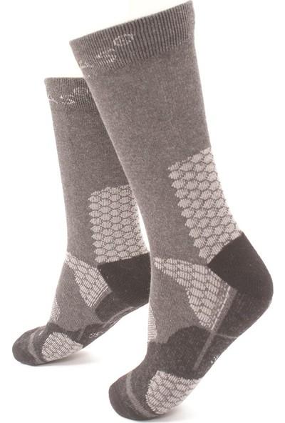 2AS - Thermolite Trekking Çorap Gri