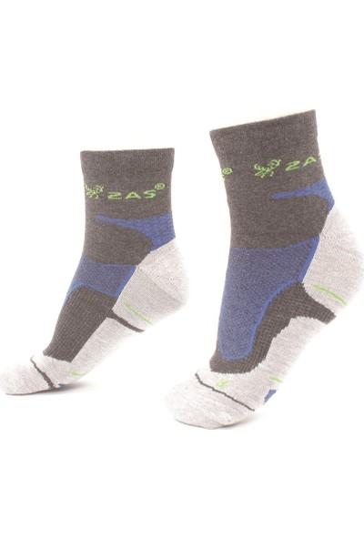 2AS - Coolmax Koton Trekking Çorap Karma