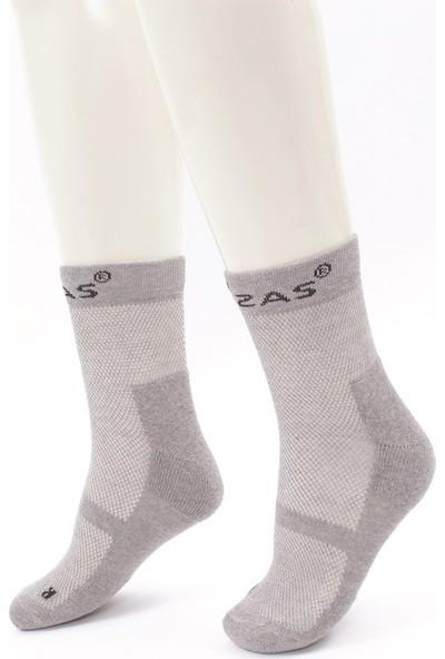 2AS - Multi Sport Koton Çorap Gri