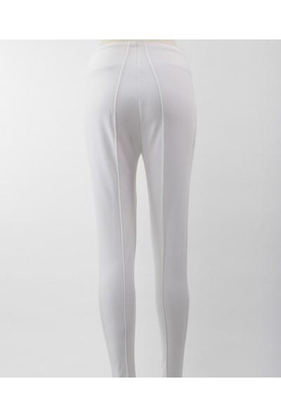 Emmegi - Keil Woman Pant Rs1 Kadın Pantolon (White) Beyaz