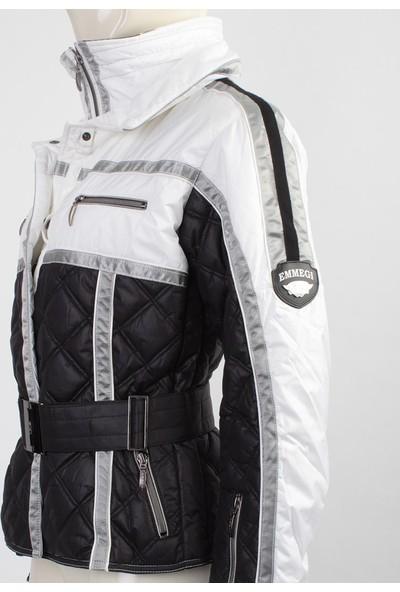 Emmegi - Ava Woman Jacket D0 Kadın Mont (Black) Siyah