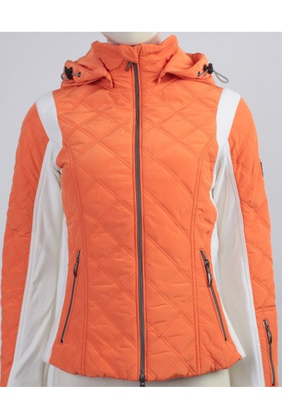 Emmegi - Avery Woman Jacket P4 Kadın Mont (Mandarin) Turuncu