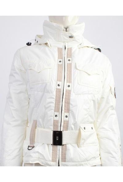 Emmegi - Bonny Woman Jacket P1 Kadın Mont (Ice) Beyaz