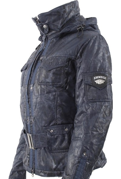 Emmegi - Bonny Woman Jacket U5 Kadın Mont (Blue) Mavi