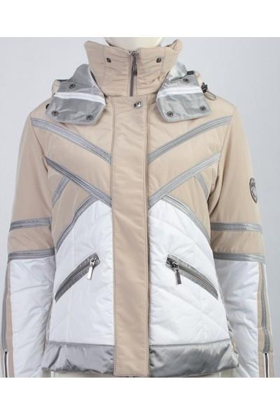 Emmegi - Cassie Woman Jacket P2 Kadın Mont (Beige) Bej