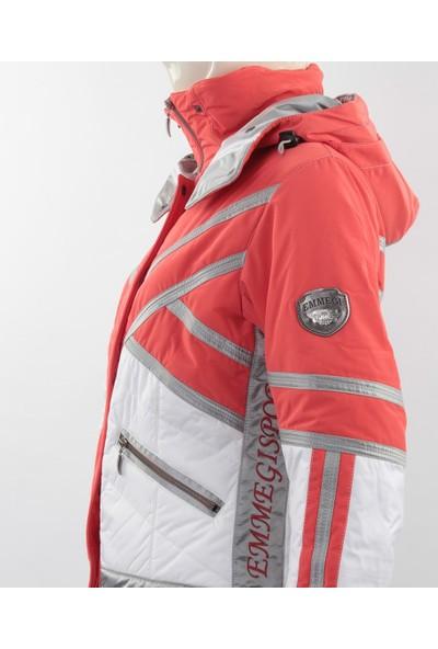Emmegi - Cassie Woman Jacket P5 Kadın Mont (Coral) Turuncu