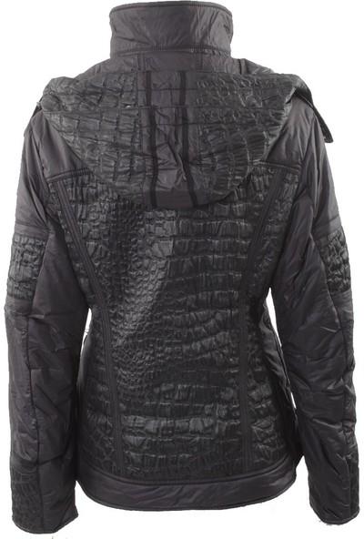 Emmegi - Berry Woman Jacket L6 Kadın Mont (Black) Siyah