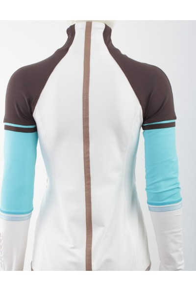 Emmegi - Fairy Woman Jacket T16 Kadın Sweatshirt (Ice) Beyaz