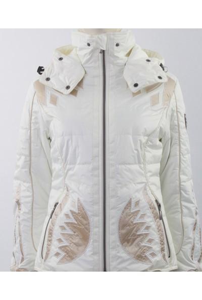 Emmegi - Grace Woman Jacket P1 Kadın Mont (Ice) Beyaz