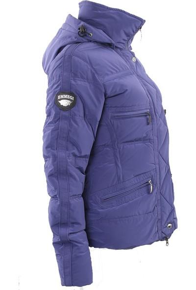 Emmegi - Irina Woman Jacket P9 Kadın Mont (Purple) Mor
