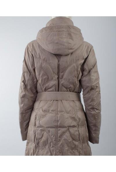 Emmegi - May/P Woman Jacket U1 Kadın Mont (Greige) Gri