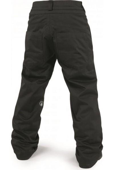 Volcom Explorer Insulated Çocuk Snowboard Pantolonu - Siyah