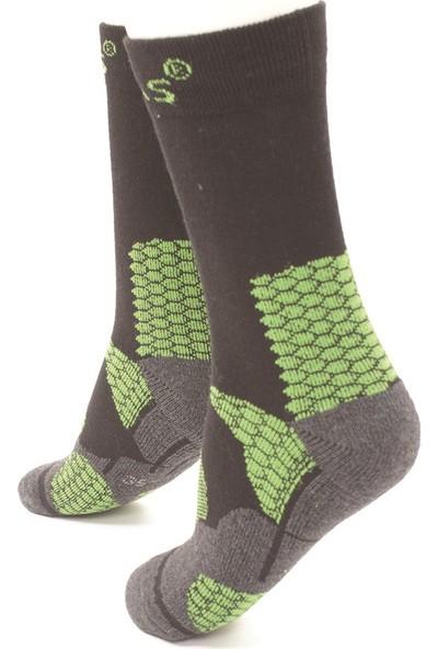 2AS - Thermolite Trekking Çorap Yeşil