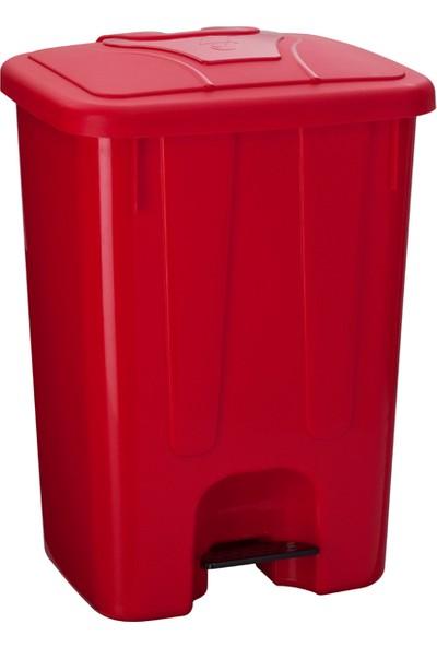 Şenyayla Köşeli Pedallı Çöp Konteyneri 65 Lt. 4260