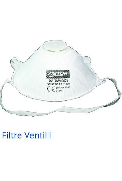 Astor Ventilli Toz Maskesi 20'Li Paket