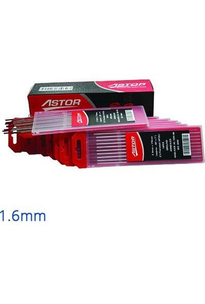 Astor Tungsten Elektrod 1.6 Mm 10'Lu Paket