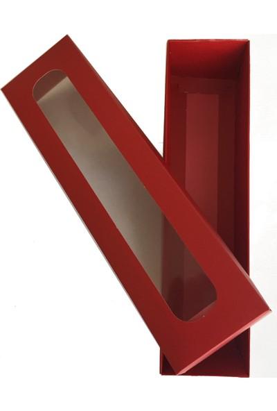 Elitparti Makaron Kutuları - Kırmızı