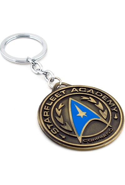 Solfera Star Trek Uzay Yolu Atılgan Metal Anahtarlık Kc608