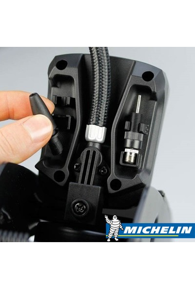 Michelin MC12204 Basınç Göstergeli Ayak Pompası