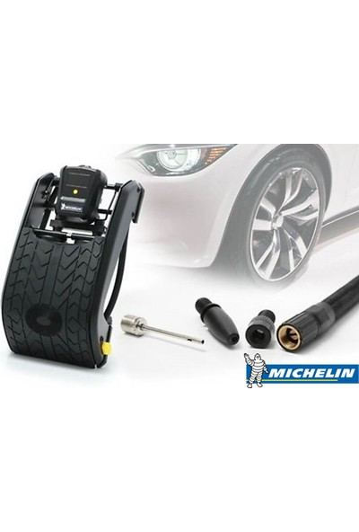 Michelin MC12209 Dijital Basınç Göstergeli Çift Pistonlu Ayak Pompası