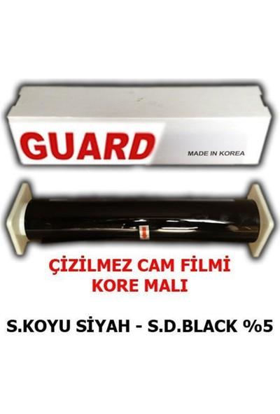 Nettedarikcisi Cam Filmi Çizilmez %05 Süper Koyu Siyah ( Super Dark Black ) 100Cm * 60M