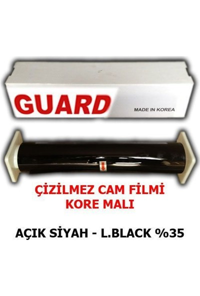 Nettedarikcisi Cam Filmi Çizilmez %35 Açık Siyah ( Light Black ) 75Cm * 60M