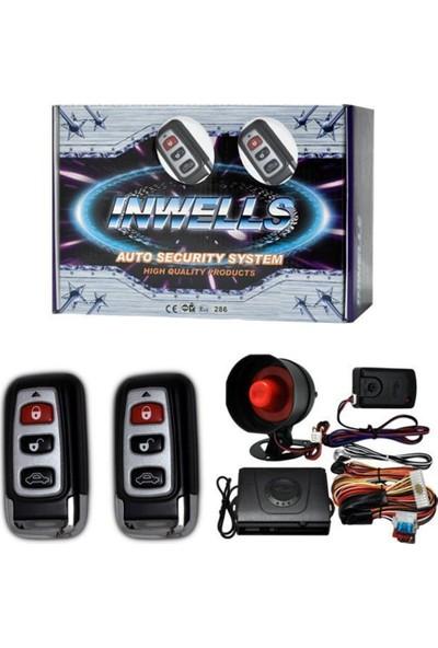 Nettedarikcisi İnwells Oto Alarmı 12V 3707