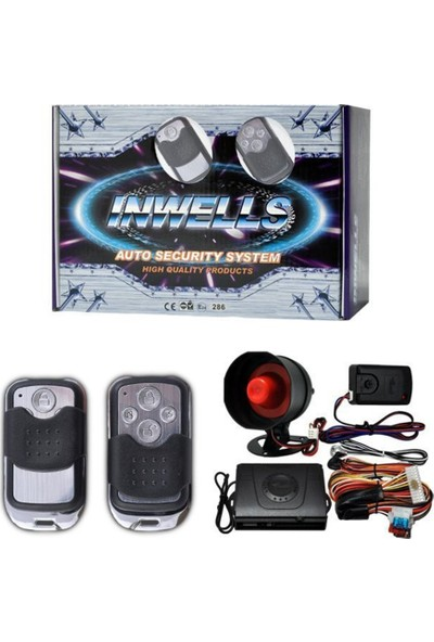 Nettedarikcisi İnwells Oto Alarmı 12V 3805