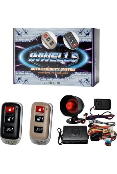 Nettedarikcisi İnwells Oto Alarmı 12V 3810