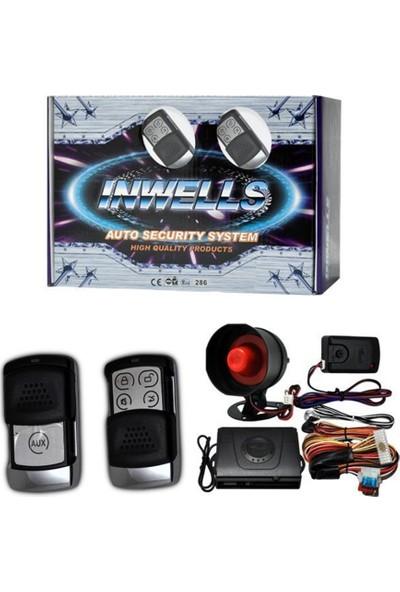 Nettedarikcisi İnwells Oto Alarmı 12V 3839