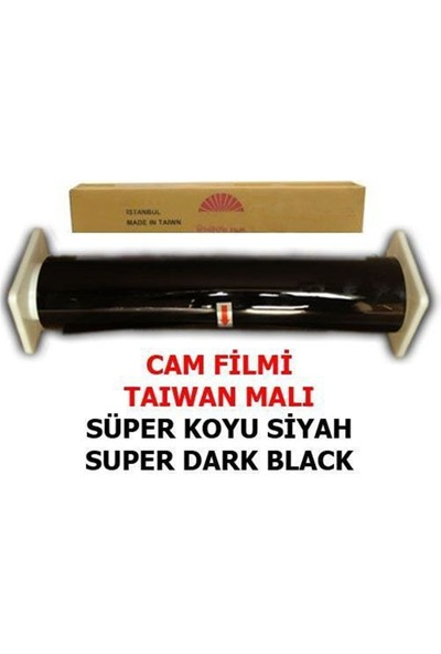 Nettedarikcisi Cam Filmi Normal %05 Süper Koyu Siyah ( Super Dark Black ) 100Cm * 60M