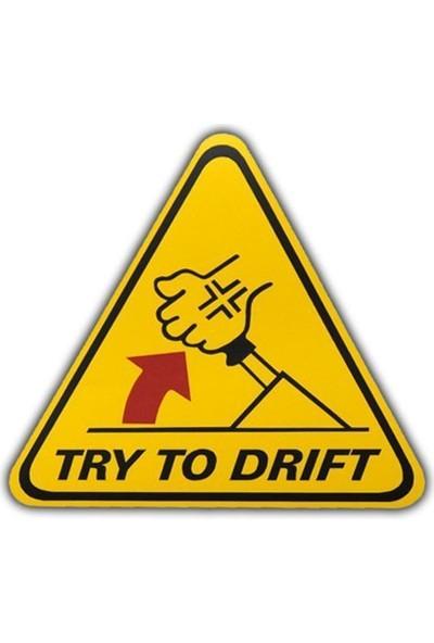 Nettedarikcisi Ozy Drift El Freni Yazı Araba Oto Sticker (11Cm * 12Cm )