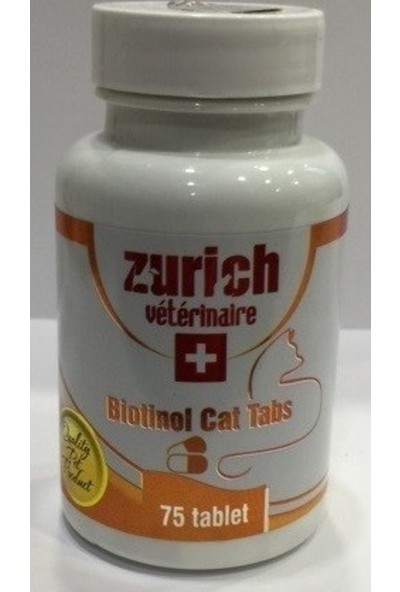 Zurich Biotinol Tabs Cat 75 Tablet