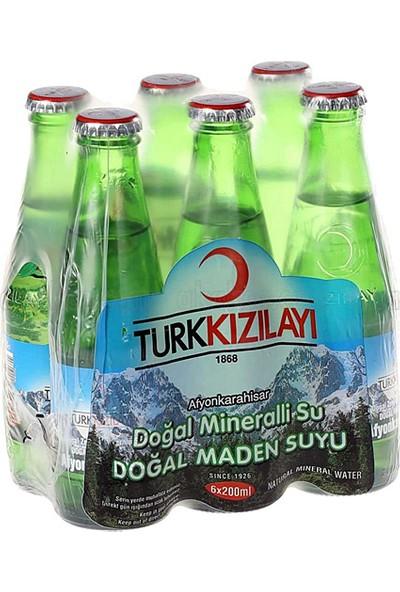 Kızılay Sade Soda Cam Şişe 200 Ml 24'Lü Koli