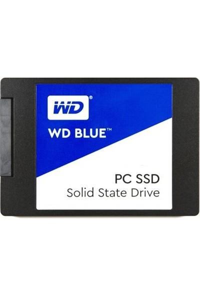 """WD Blue 250GB 540MB-500MB/s 2.5"""" Sata 3 SSD WDS250G1B0A"""