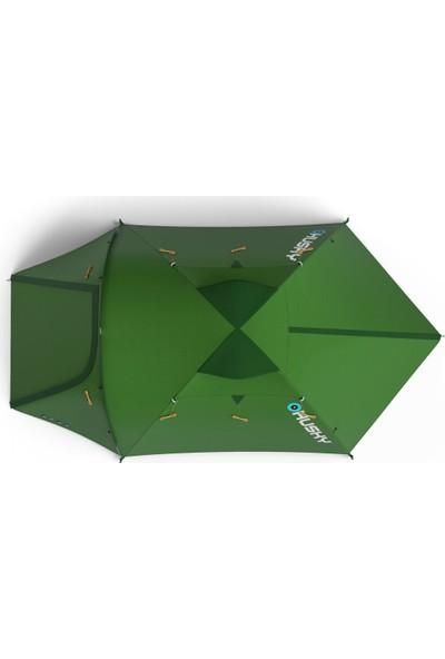Husky Baron 3 Kişilik Yeşil Kamp Çadırı