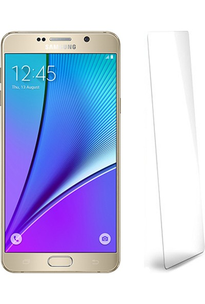Fuqqa Samsung Galaxy Note 5 Ekran Koruyucu Filmi
