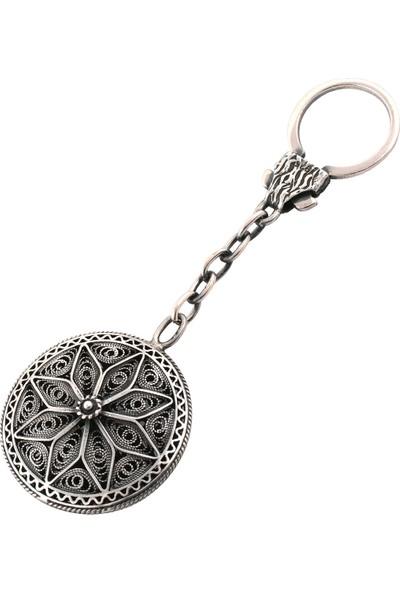Akyüz Gümüş Telkari Gümüş Anahtarlık Anh001